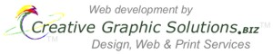 Web Development by Creative Graphic Solutions.BIZ... Design, Web, and Print Services!